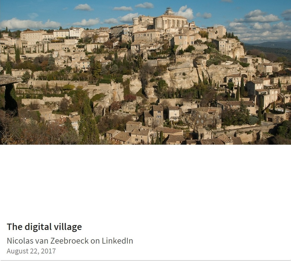 The digital village (on LinkedIn)
