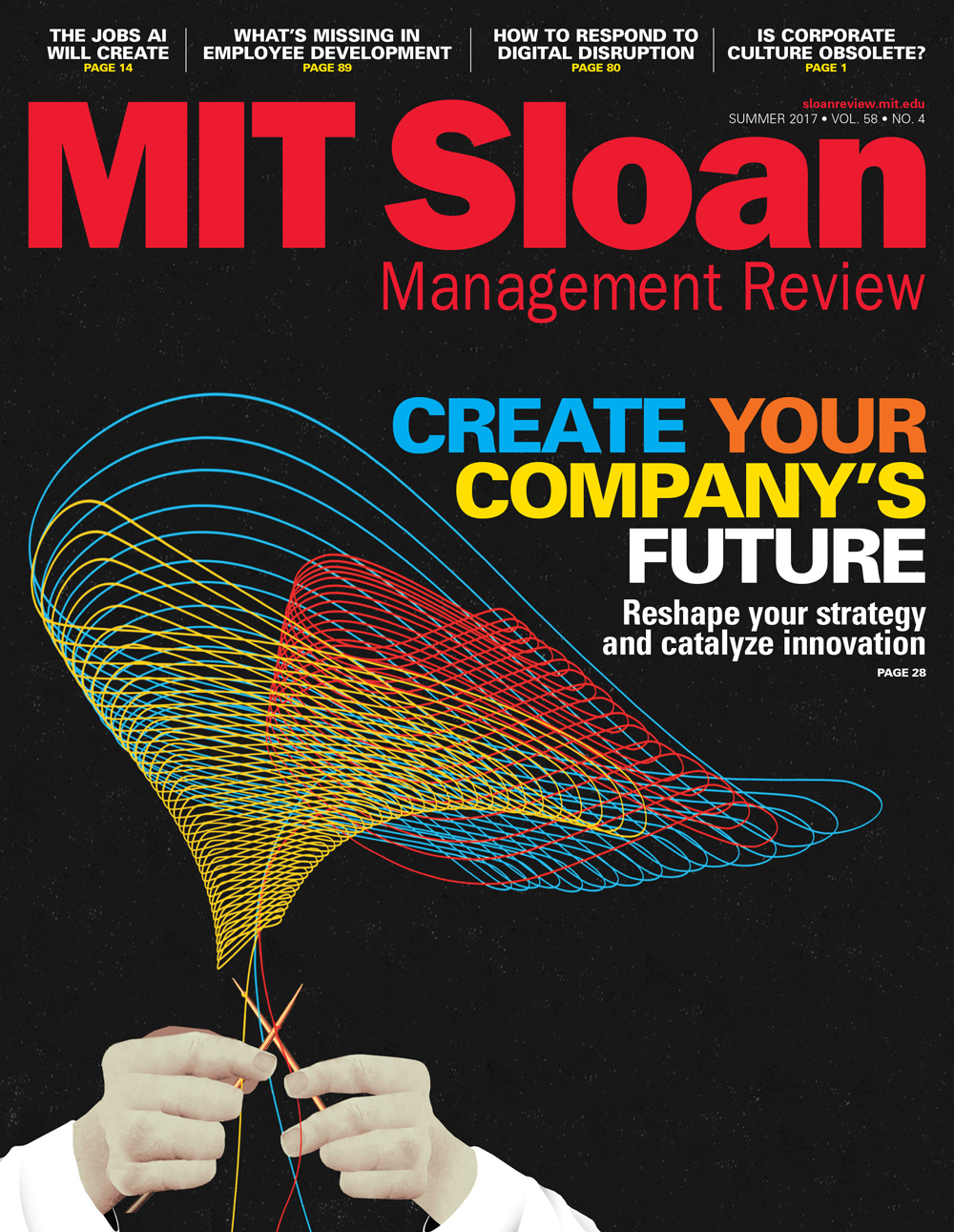 The best response to digital disruption (MIT Sloan)